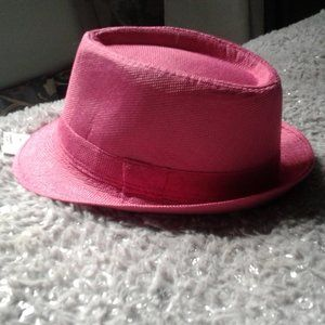 cutest little pink hat ever